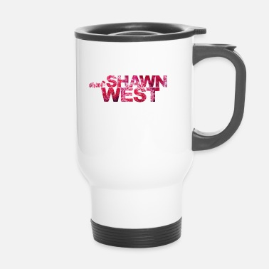 Pinchadiscos Música Shawn West Berry Strawberry Design T-shirt - Taza termo