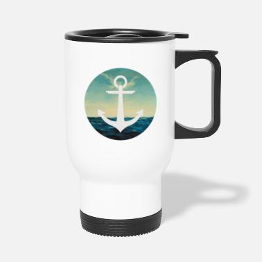 Circular Sea circular - Travel Mug