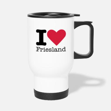 Love I Love Friesland - Thermosbeker