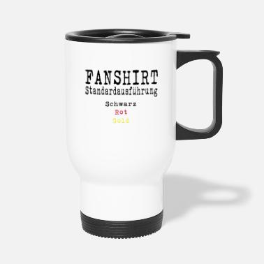 Schland Football Fan Shirt Germany Schland EM - Travel Mug