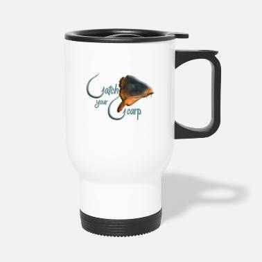 catch your carp - Travel Mug