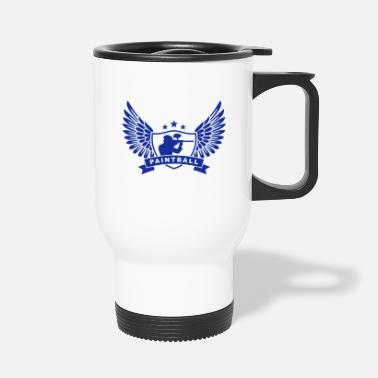 Paintball paintballing - Travel Mug
