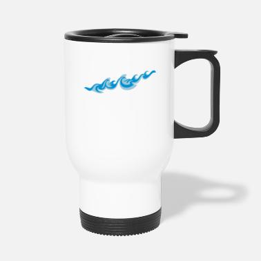 Sjø Waves 2C - Travel Mug