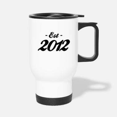 Established naissance - Established 2012 - Mug isotherme