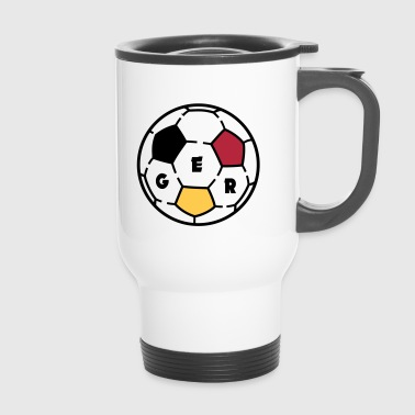 Ballon De Foot Ballon foot GERMANY - Mug thermos