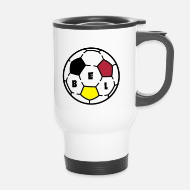 Ballon De Foot Ballon foot BELGIQUE - Mug thermos
