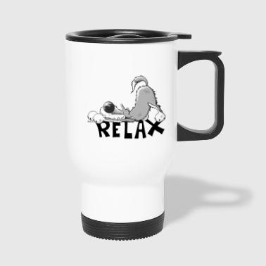 Relaxed Wolf - Wolven - Thermo mok