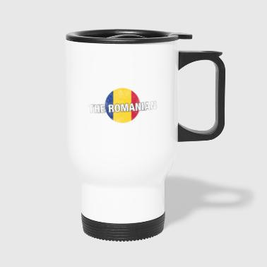 Have No Fear The Romanian Is Here Shirt - Travel Mug