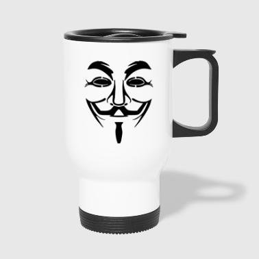 Vendetta masker - Guy Fawkes (Anonymous) - Thermo mok