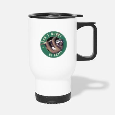 Starbucks Starbucks Sloth Bouton d'amusement paresseux Humour LOL froid - Mug thermos