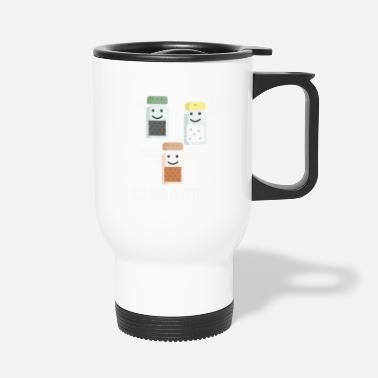 Seasons Greetings Seasons Greetings Funny Seasonings Christmas Pun - Travel Mug