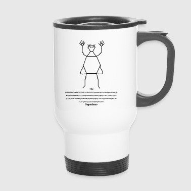 Superhero - superhero - Travel Mug