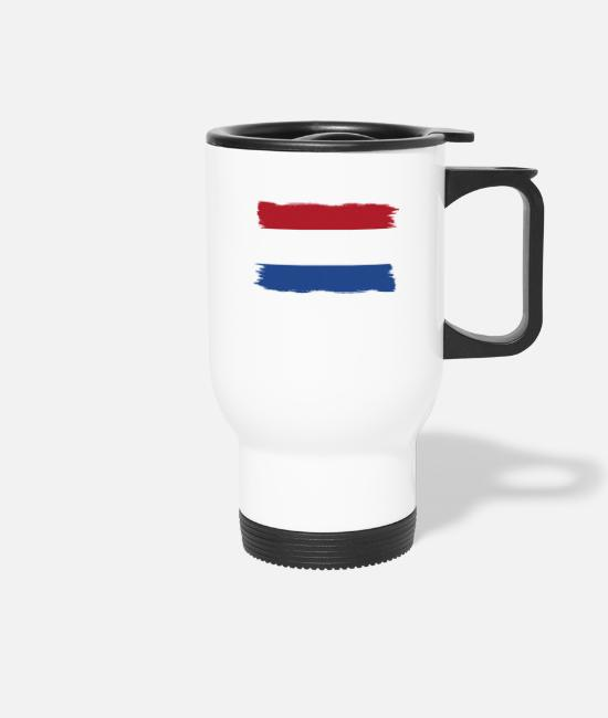 Proud Mugs & Drinkware - Pride flag flag home origin holland png - Travel Mug white