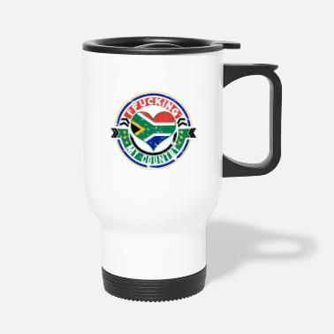 South Gift South Africa Africans I love my country - Travel Mug