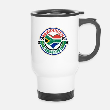 South Africa Gift South Africa Africans I love my country - Travel Mug