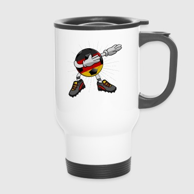 Soccer Ball Soccer Germany Soccer Dabbing Ball Dab Cool - Tazza termica