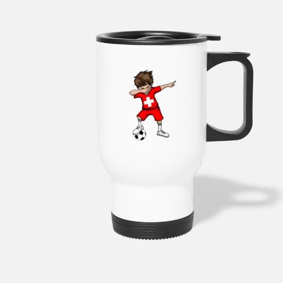 National Team Mugs & Drinkware - Switzerland football national team gift - Travel Mug white