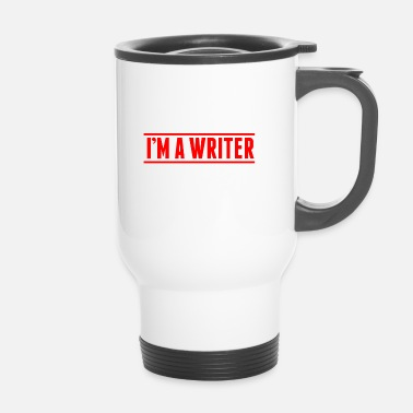 Writing Auteur Writer Book Writing Texte cadeau - Mug thermos