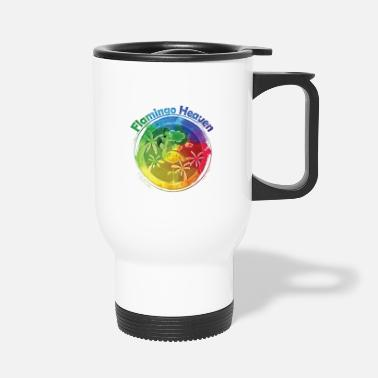 Heaven Flamingo Heaven Rainbow - Mug isotherme