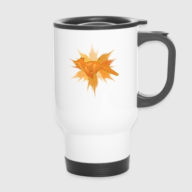 Fox Splatter - Mug thermos