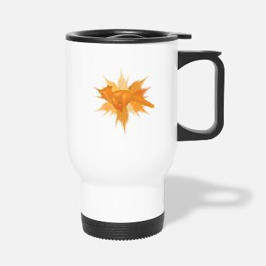 Splatter Fox Splatter - Travel Mug