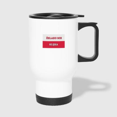 Polish flag - Travel Mug