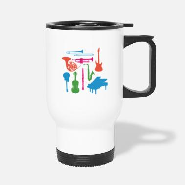 Musical Instrument Musical Instruments - Travel Mug