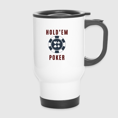 Hold em Poker - Thermobecher