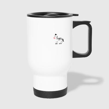 Zebra - Zebras - Zebra Finch - Be Yourself - Travel Mug