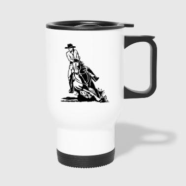 Montar occidental - Taza termo