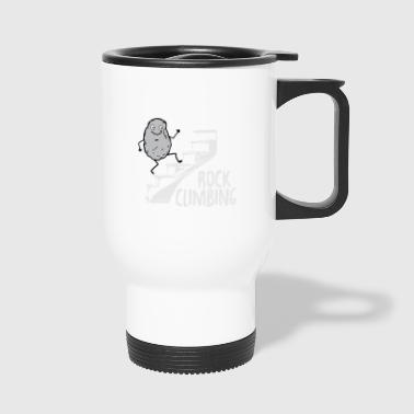 rock climbing - Travel Mug
