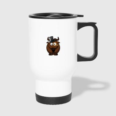 Sir Hipster Monocle - Travel Mug