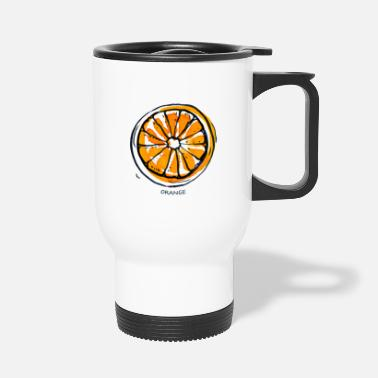 Fruit Orange Fruit Fruit Fruit - Travel Mug