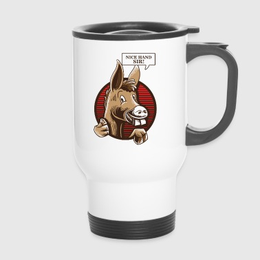 Donkey Poker Player Shirt - Poker Texas Holdem - Mug thermos