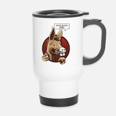 Holdem Camiseta Donkey Poker Player - Texas Holdem Poker - Taza termo