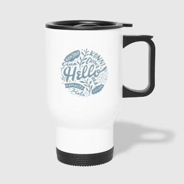 Hello sea linguist - Travel Mug