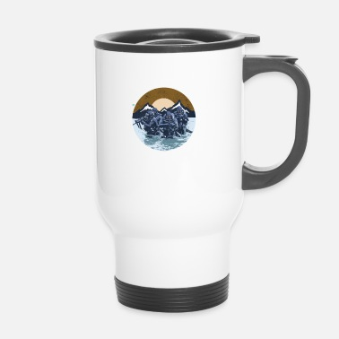 Navy Navy Seal Rescue Diver - Mug thermos