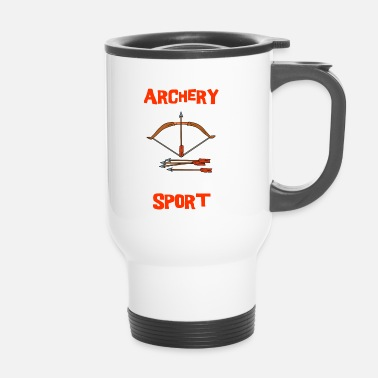 Clever Bow Tir à l'arc Sport Arrow Clever Clever - Mug thermos