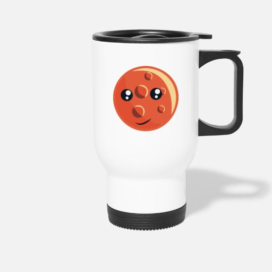 Mars Mugs & Drinkware - Planet Mars - Travel Mug white