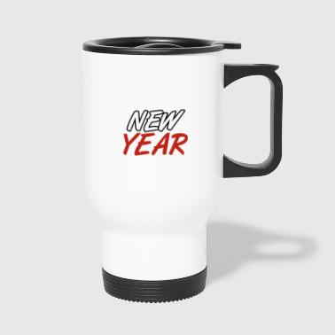 New year - New Year - Happy New Year - New Year's Eve - Travel Mug