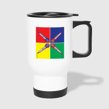 Pop Art Microphone - Mug thermos