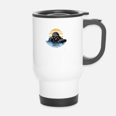 Navy Navy Seals Rescue Diver - Mug thermos