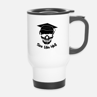 College Skull College Finishing - Taza termo