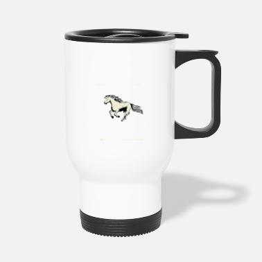 Womens Fitted V Neck T This Girl Dreams Horses Equestrian Horse Lover tee - Travel Mug