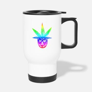 Feuille cannabis - Mug isotherme