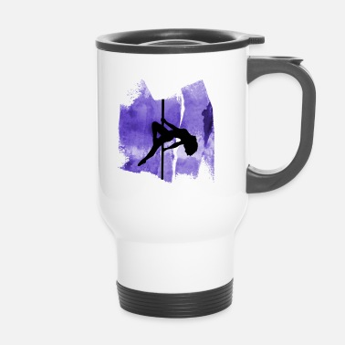 Pole Dance Pole dance poles dancing poledance pole dance - Travel Mug