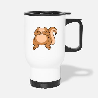 Head No Head My Head Is Squirrel Head - Travel Mug