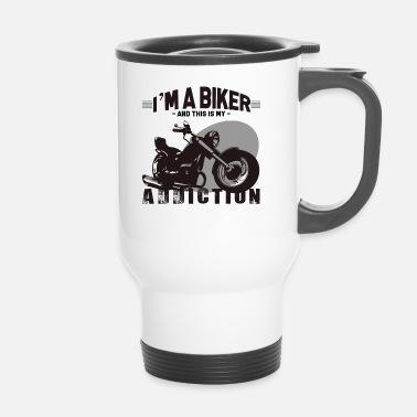 Motorismo Chopper Biker Motorcycle Rider Superbike - Tazza termica