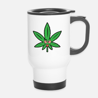 Fumer Langue de cannabis Cannabis - Mug thermos