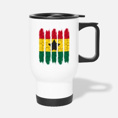 Accra Trendy Ghana National Colors Modern Accra Gift - Travel Mug